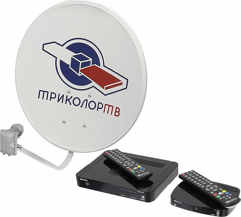Установка триколор на 2 телевизора